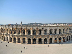 The arenas of Nimes